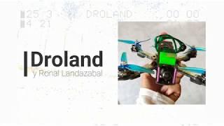Progreso con Dron FPV (Modo Acro-DVR- Con4 baterías de progreso dron de freestyle)