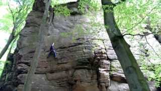 preview picture of video 'Cima Ovest(7c+) Berdorf, Luxemborg'