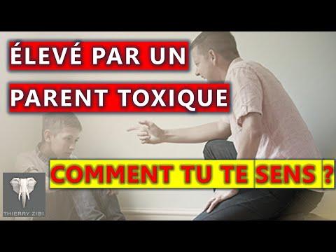 Grandir avec un parent toxique
