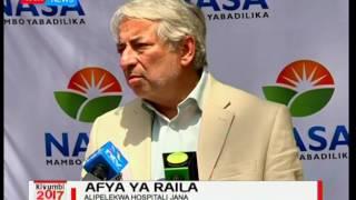 Salim Lone atoa taarifa, afya ya Raila