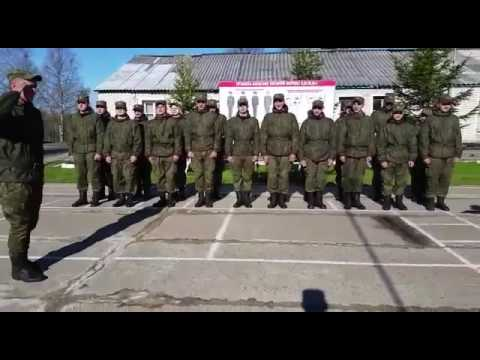 Поздравление Матери с юбилеем с армии
