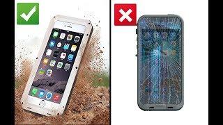 Unboxing Review-Luxury Doom Armor Life Dropproof | Waterproof Best Case iPhone 6/6S, 7+/8 Plus