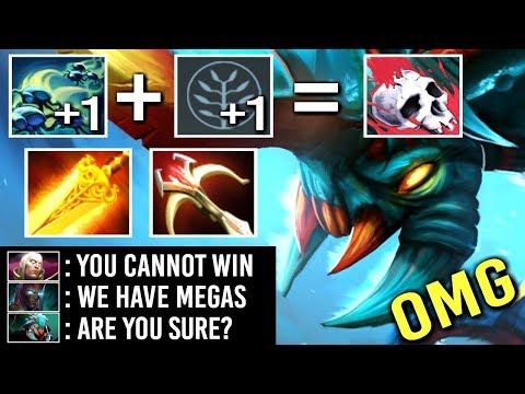 OMG EPIC 3x Attack Radiance Weaver is Back Crazy Megacreeps Comeback WTF Dota 2 [MUST WATCH]