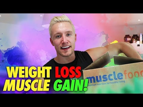 Muscle GAIN + Weight LOSS Nutrition!   MuscleFood Haul   What I Eat DAILY?