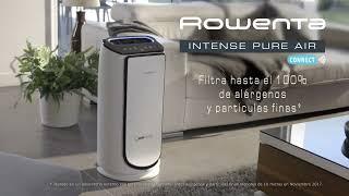 Rowenta Activa tu purificador Intense Pure Air desde cualquier lugar anuncio