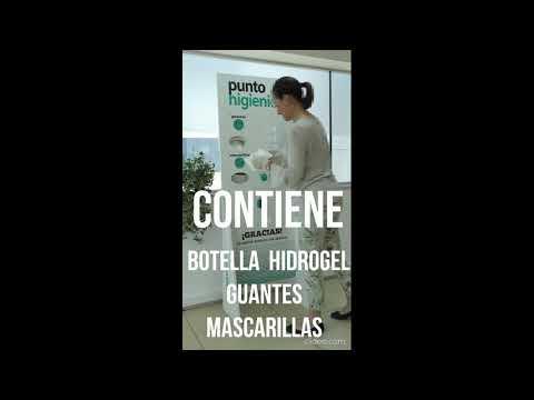 COMERCIOS Y HOSTELERIA DISPENSADOR HIGIENICO CORONAVIRUS