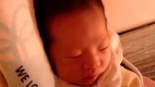 我家寶寶睡覺好忙篇02