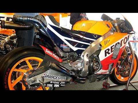 MotoGP HONDA RC213V (2016) Exhaust Sound !! - 4K Ultra HD -