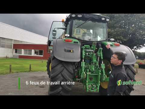 Vidéo tracteur john deere 6195R