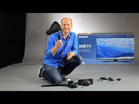 Samsung TV K-Serie - Lieferumfang & Aufbau
