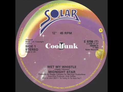 "Midnight Star - Wet My Whistle (12"" Funk 1983)"