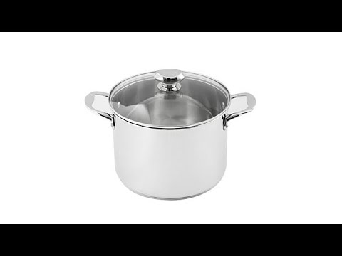 Wolfgang Puck 8Quart Stainless Steel Stockpot with Lid