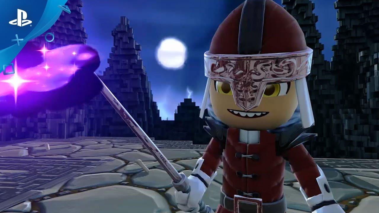 Action RPG Sandbox Portal Knights Comes to PS4 May 2