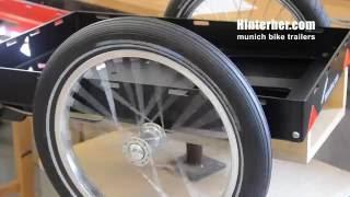 Fahrradanhänger - making of Hinterher. Lastenanhänger Biketrailer review