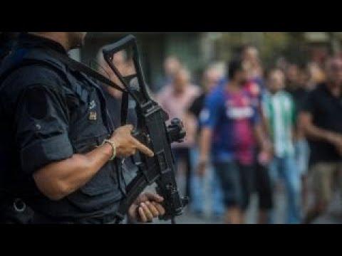 Police shoot, kill driver in Barcelona terror attack