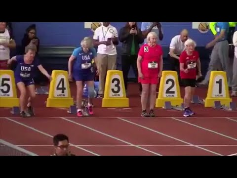 100-year-old and 102-year-old runners break world records