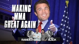 5 Rounds - Comparing Chael Sonnen in MMA to Donald Trump in Politics