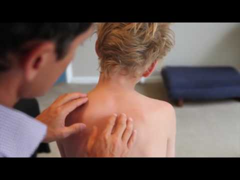 Da dolore in reparto cervicale di una spina dorsale