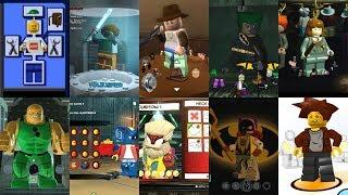 Character Customisation Evolution in Lego Videogames!!! - dooclip.me