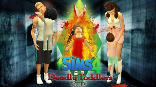 """The Sims 4 Deadly Toddlers """"MOD"""""""