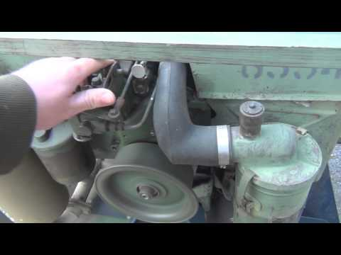 5kw military generator powers house with transformer with explination