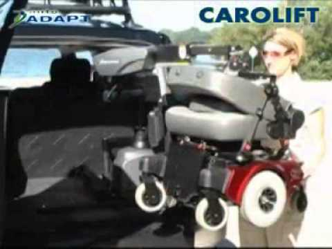 Wheelchair & Scooter Lift - Carolift-6000-6900