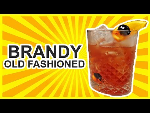 Brandy Old Fashioned – Wisconsin Style!!