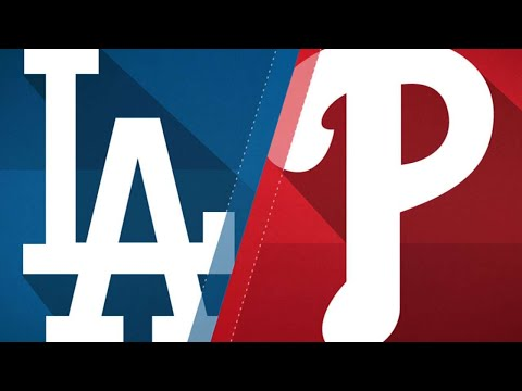 Two-run 7th leads Dodgers past Phillies, 5-4: 9/21/17