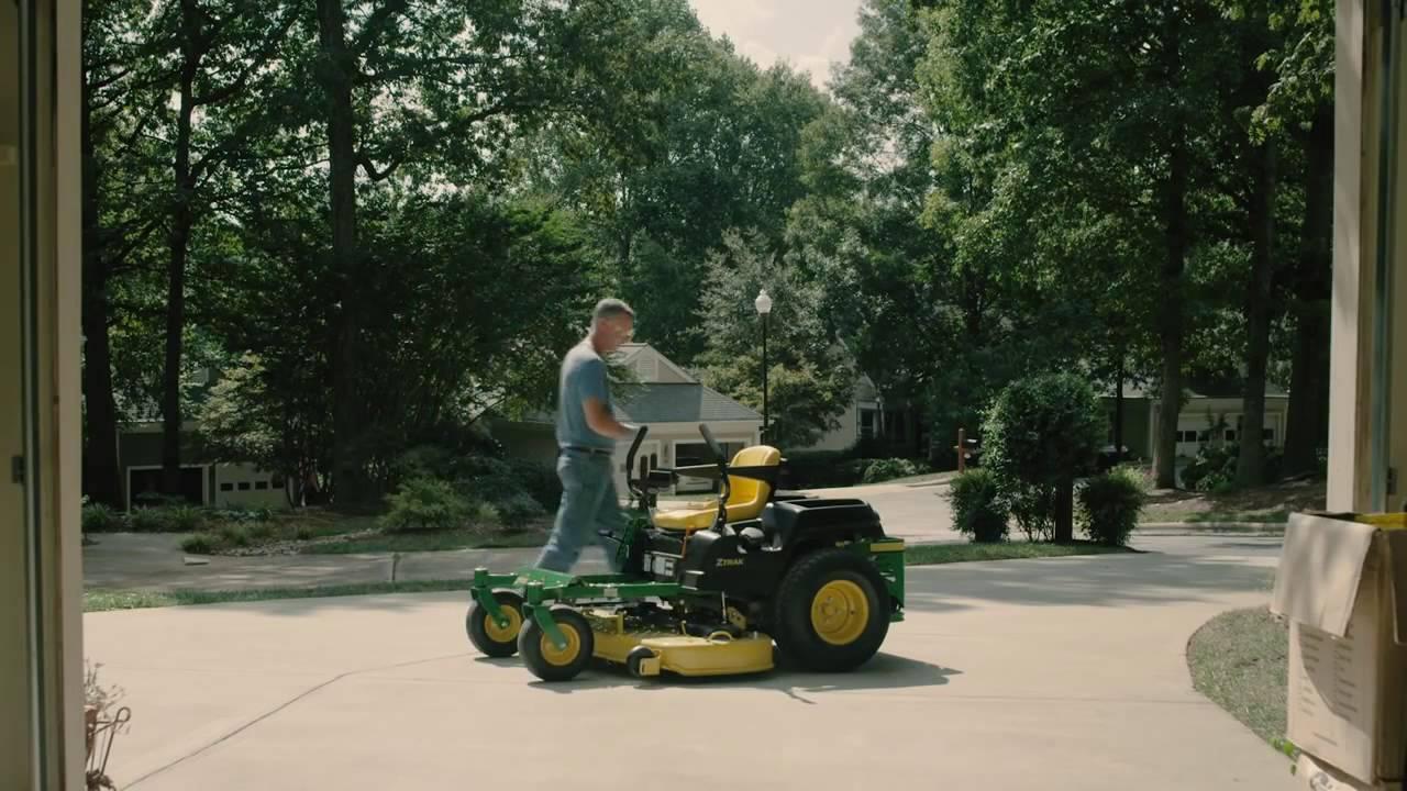 Change Oil & Filter on John Deere ZTrak Mower