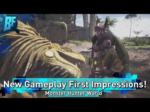 Monster Hunter World New Gameplay and First Impressions