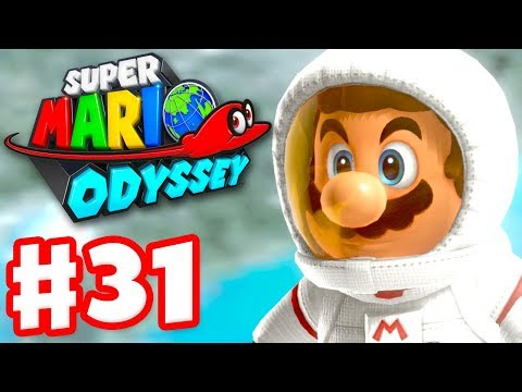 Super Mario Odyssey - Gameplay Walkthrough Part 31 - Moon Kingdom 100%! (Nintendo Switch)