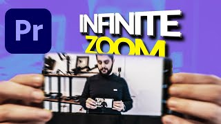 CRAZY INFINITE ZOOM Through Screen in Premiere Pro Tutorial