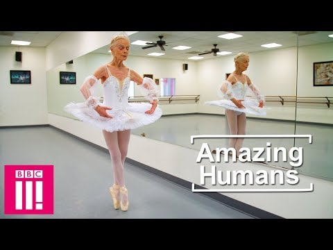 Young in Body and Soul: the Story of 77-Year Old Ballerina