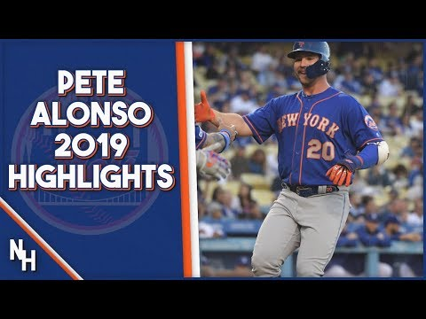 Pete Alonso 2019 Highlights