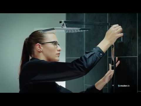 "Montage Duschsystem Grohe ""Euphoria Cube XXL 230"""
