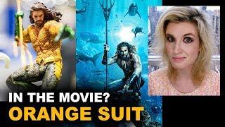 Aquaman Movie 2018 - Orange Suit