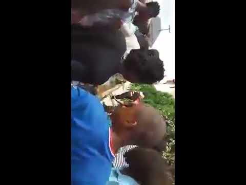 two Igbo Girls Caught Stealing Mercilessly Beaten