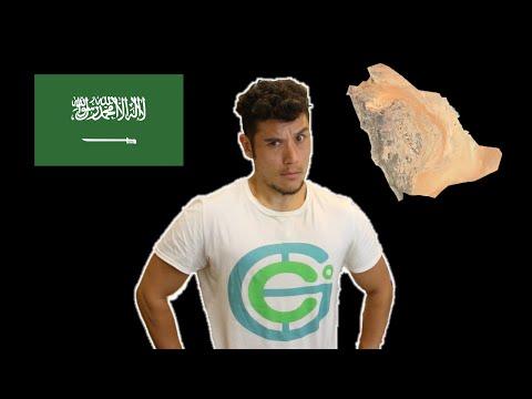 Saúdská Arábie - Geography Now!