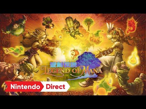 Legend of Mana - Reveal Trailer