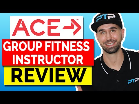 ACE Group Fitness Instructor Certification Review! - YouTube
