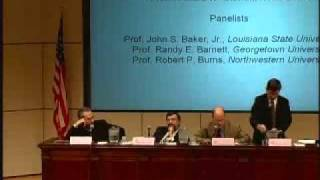 Click to play: Panel I: What is Morality? The Philosophical and Theological Foundations of Moral Debate
