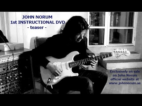 JOHN NORUM 1st INSTRUCTIONAL DVD - TEASER