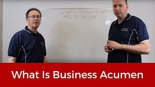 1. What is Business Acumen?