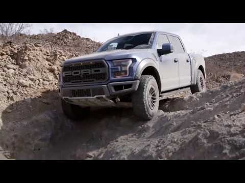 2019 Ford  F 150 Raptor. Off-road Test Drive. (Stucked In Mold)