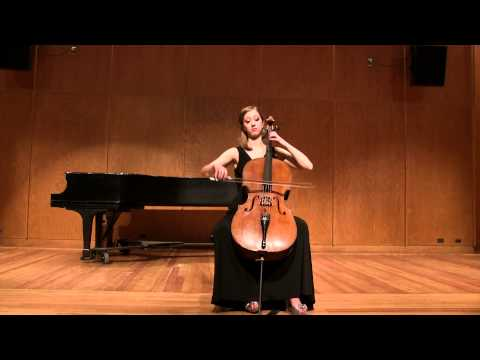 Megan's performance for the University of Michigan's String Showcase in Ann Arbor, MI, January 2015