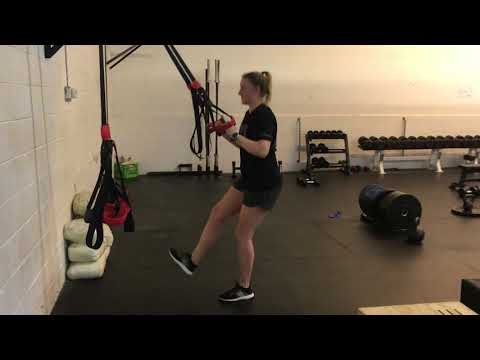 Suspension Single Leg Squat and Lunge