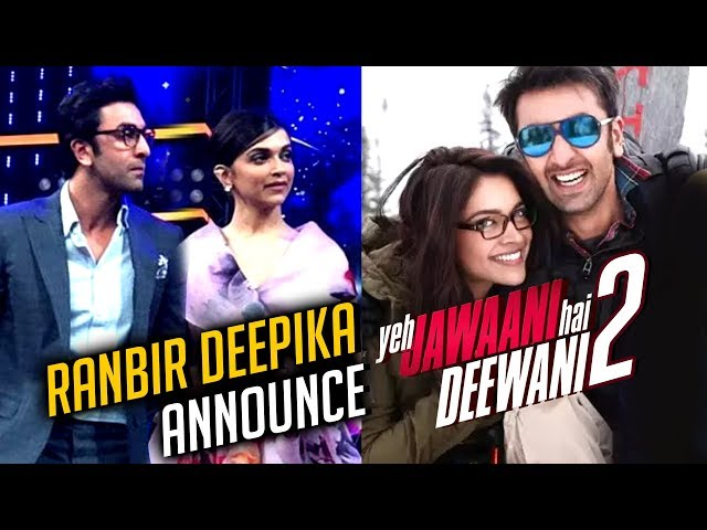 Deepika Padukone Ranbir Kapoor Announce Yeh Jawaani Hai Deewani 2 | Asian Paints Event