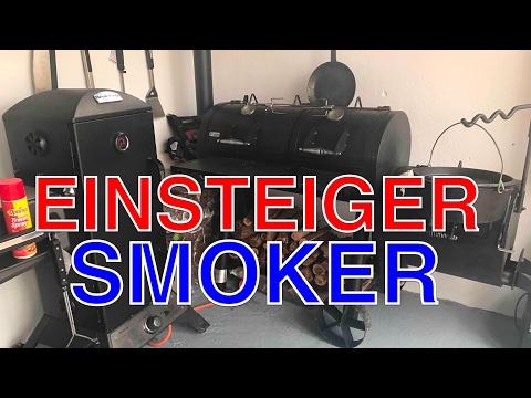 SMOKER für EINSTEIGER ANFÄNGER ??? Kaufberatung --- Klaus grillt