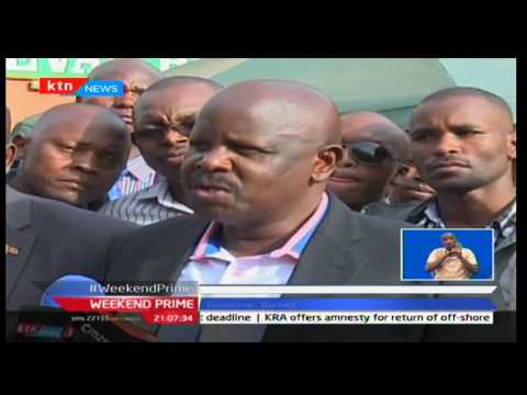 President Uhuru says Isaac Ruto will be sued against the state over construction of university