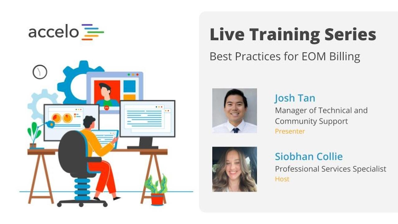 Live Training Series: Best Practices for End of Month Billing